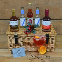 Christmas Pudding - Cranberry & Orange G&T